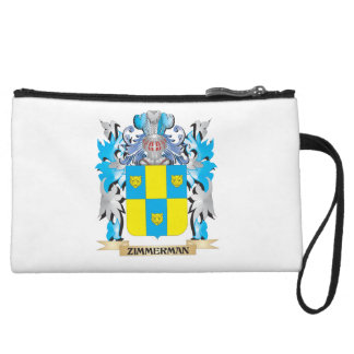 Zimmerman Coat of Arms - Family Crest Wristlet Clutch