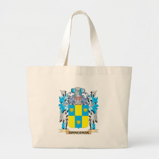 Zimmerman Coat of Arms - Family Crest Jumbo Tote Bag