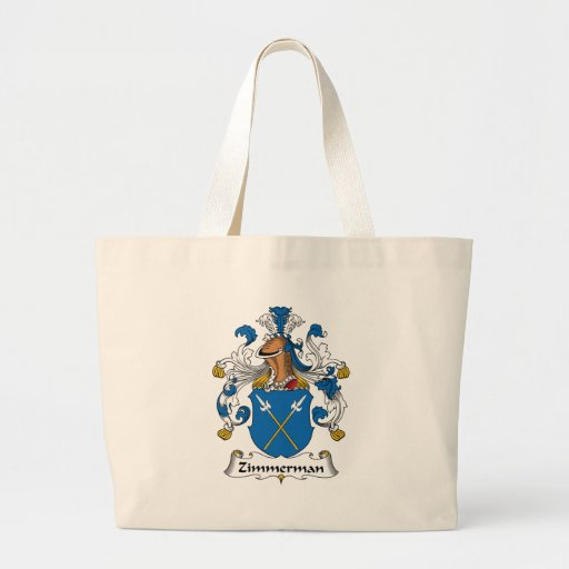 Zimmerman Family Crest Tote Bag