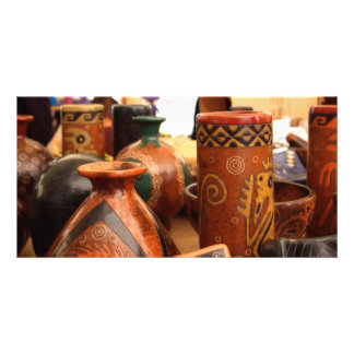 Zinapecuaro Ceramics, Photo Card