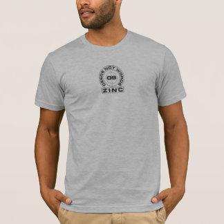 Zinc Deeds Not Words T-Shirt