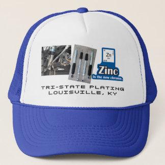 ZINC IS THE NEW CHROME / SHOCK TRUCKER HAT