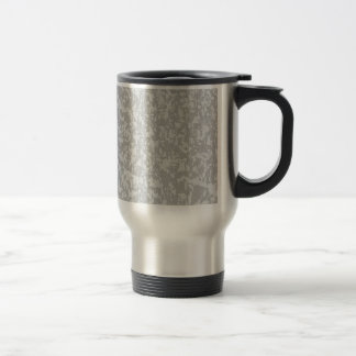 Zinc Plate Background Travel Mug