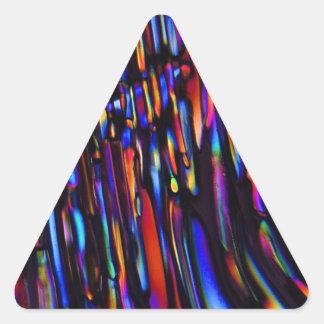 zinc sulfate under the microscope sticker