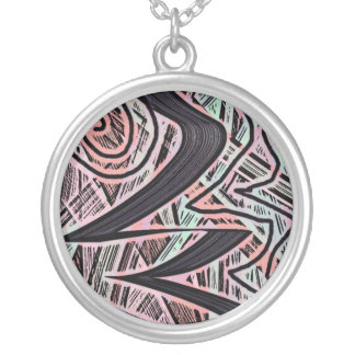zinga silver plated necklace