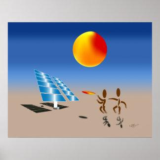 Zinglees ~ Solar Energy Poster