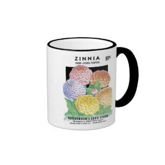 Zinnia, Dwarf, Roudabush's Seed Store Mugs