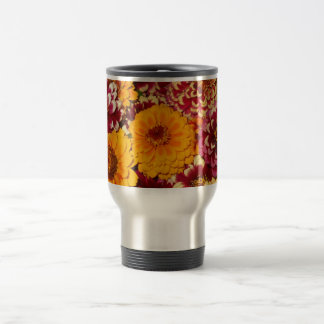 Zinnia Explosion Travel Mug