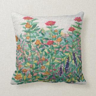 Zinnia Garden Pillow
