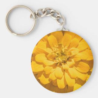 Zinnia Key Ring