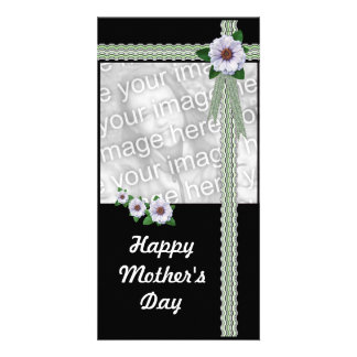Zinnias Mother's Day Photo Card