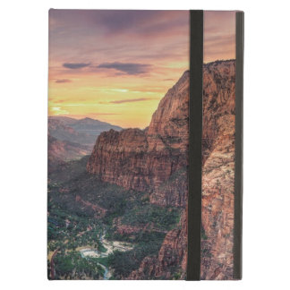 Zion Canyon National Park iPad Air Cases