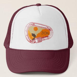 Zion Climbing Carabiner Trucker Hat