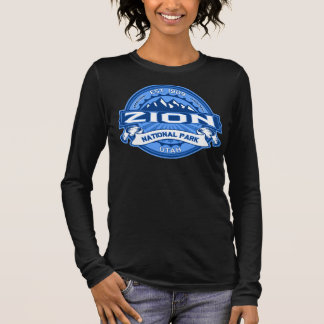Zion Cobalt Dark Long Sleeve T-Shirt