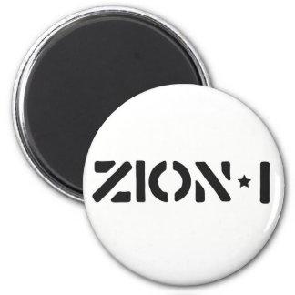 Zion-i Simple 6 Cm Round Magnet