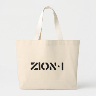 Zion-i Simple Large Tote Bag