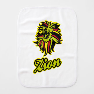 Zion. Iron Lion Zion HQ Edition Color Burp Cloth