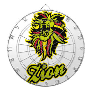 Zion. Iron Lion Zion HQ Edition Color Dartboard