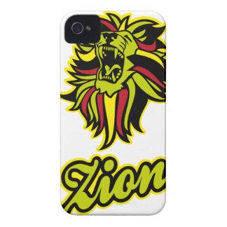 Zion. Iron Lion Zion HQ Edition Color iPhone 4 Case