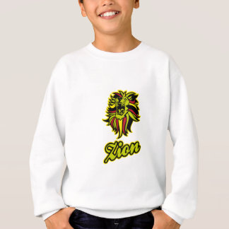 Zion. Iron Lion Zion HQ Edition Color Sweatshirt