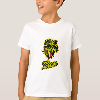 Zion. Iron Lion Zion HQ Edition Color T-Shirt