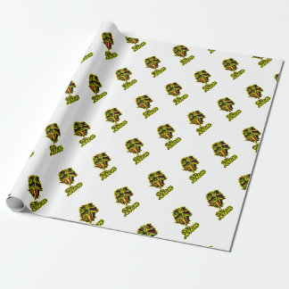 Zion. Iron Lion Zion HQ Edition Color Wrapping Paper