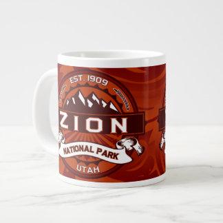 Zion Jumbo Crimson Giant Coffee Mug