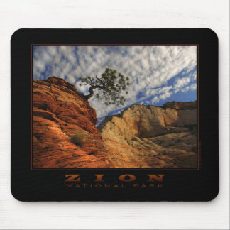 Zion Lone Tree Mousepad (horizontal)