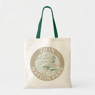Zion Nation Park Tote Bag