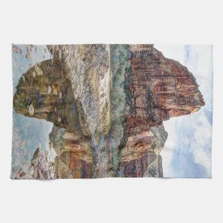 Zion National Park Angels Landing - Digital Paint Towels