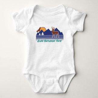 Zion National Park Baby Bodysuit