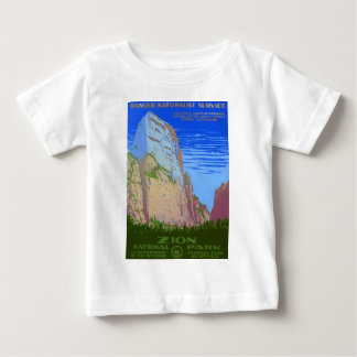 Zion National Park Baby T-Shirt