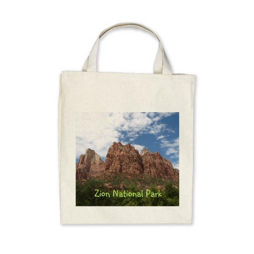 Zion National Park Tote Bags