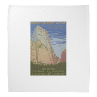Zion National Park Bandana