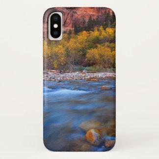Zion National Park River iPhone X Case