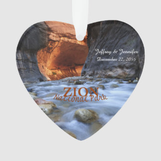 Zion National Park, The Narrows, Custom Ornament