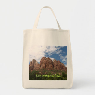 Zion National Park Grocery Tote Bag