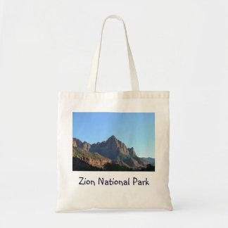 Zion National Park Canvas Bags