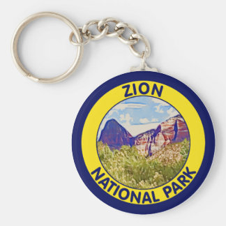 Zion National Park, Utah Key Ring