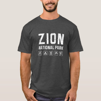 Zion National Park (Utah) tshirt - dark
