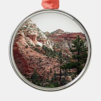 Zion National Park, Utah, USA 14 Metal Ornament
