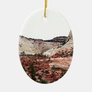 Zion National Park, Utah, USA 19 Christmas Ornament