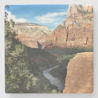 Zion National Park Utah Virgin River Stone Coaster