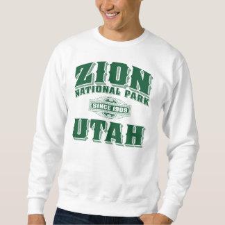 Zion Old Style Green Sweatshirt