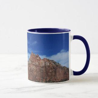 Zion. The Sky in Utah. Mug