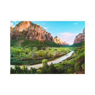 Zion's Majesty Canvas Print