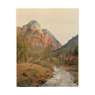 Zion's National Park Wood Wall Art