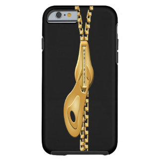 """""""Zip a Dee Doo Dah  GOLD iPHONE 6 BARELY THERE Tough iPhone 6 Case"""