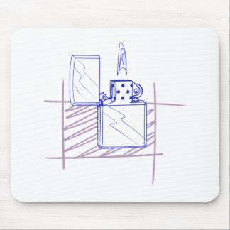 Zip Lighter Mouse Pad