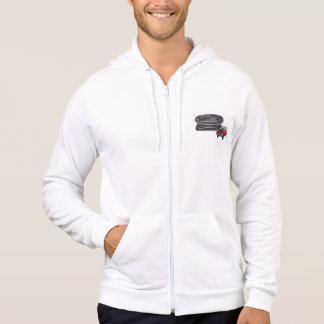 Zip up Fleece GnR badge hoodie